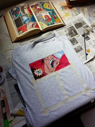 comic_t-shirt_creation