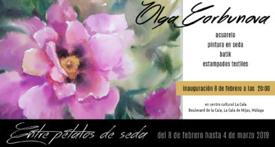 Welcome to my first Exhibition in a Costa del Sol